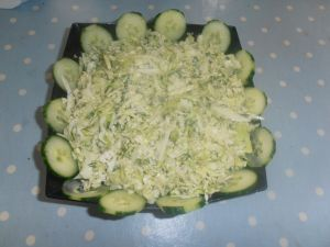 Cabbage and dill salad
